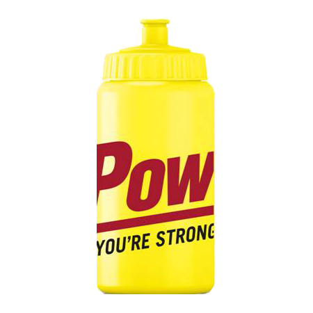 Powerbar Bottle Yellow 500 ml